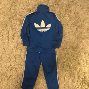 Toddler Adidas Track Suit / size 2-3